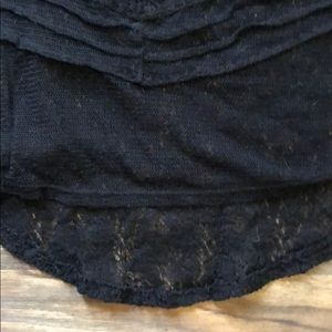 Maurices Tops - Maurice's XL Lace Shirt with Cap Sleeves